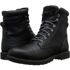 Timberland Chestnut Ridge 6 Insulated Waterproof Boot (Black Full Grain) Men's  Waterproof Boots