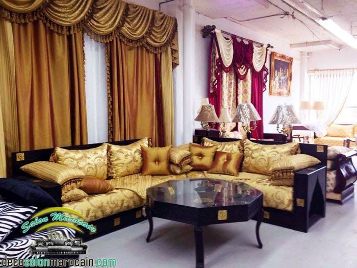 salon salon chic salon classe salon marocain salon. Black Bedroom Furniture Sets. Home Design Ideas