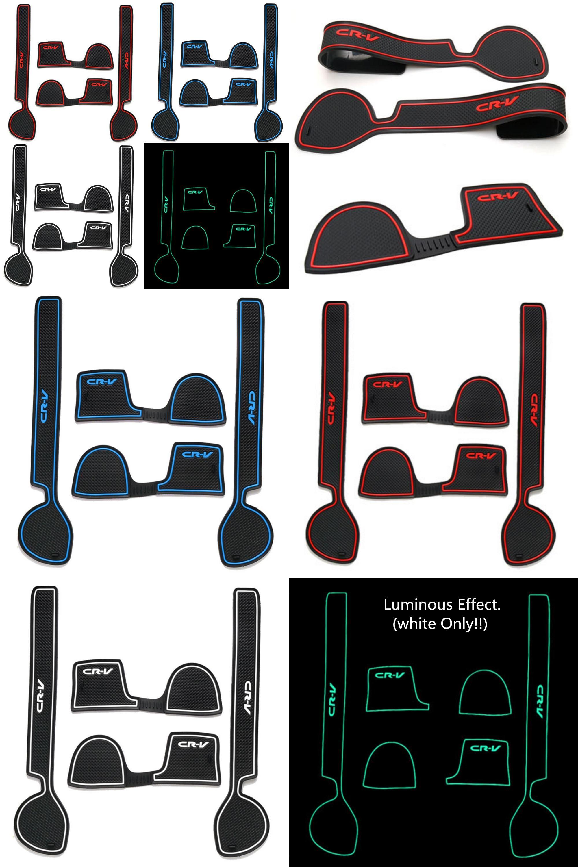 Visit to buy newest car anti slip mat car door groove mats latex