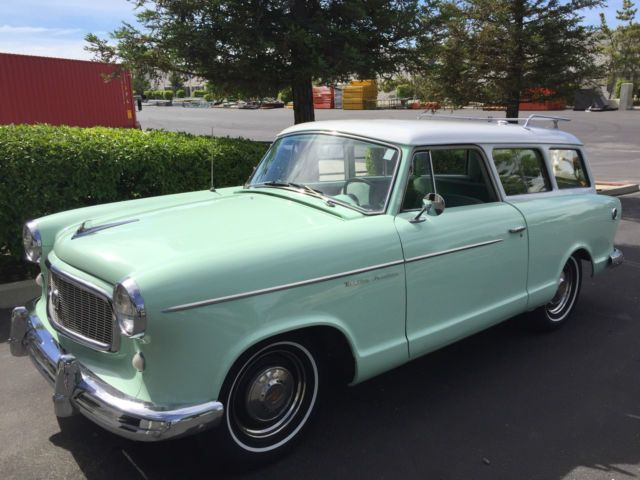 1960 Amc Rambler American Super Station Wagon Station Wagon