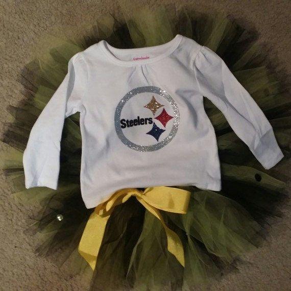 Steelers Tutu by PrincessBellasBoutiq on Etsy, $30.00