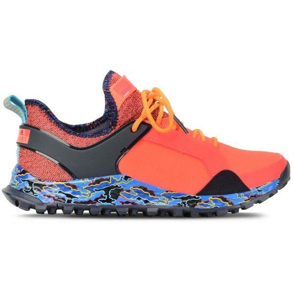 Adidas by Stella McCartney Red Aleki X Running Shoes ($100