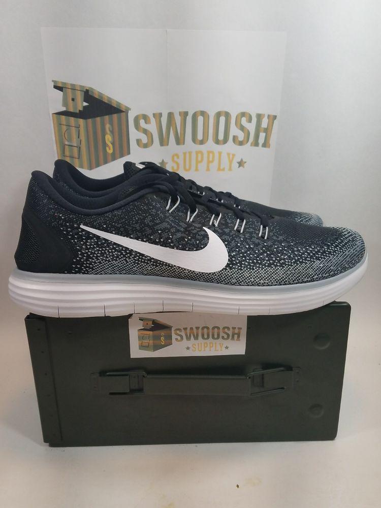outlet store c08c9 81fb1 NIKE Mens Free Run Distance Shield Running Training Shoe Grey 827115-010 Size  15  Nike  RunningCrossTraining