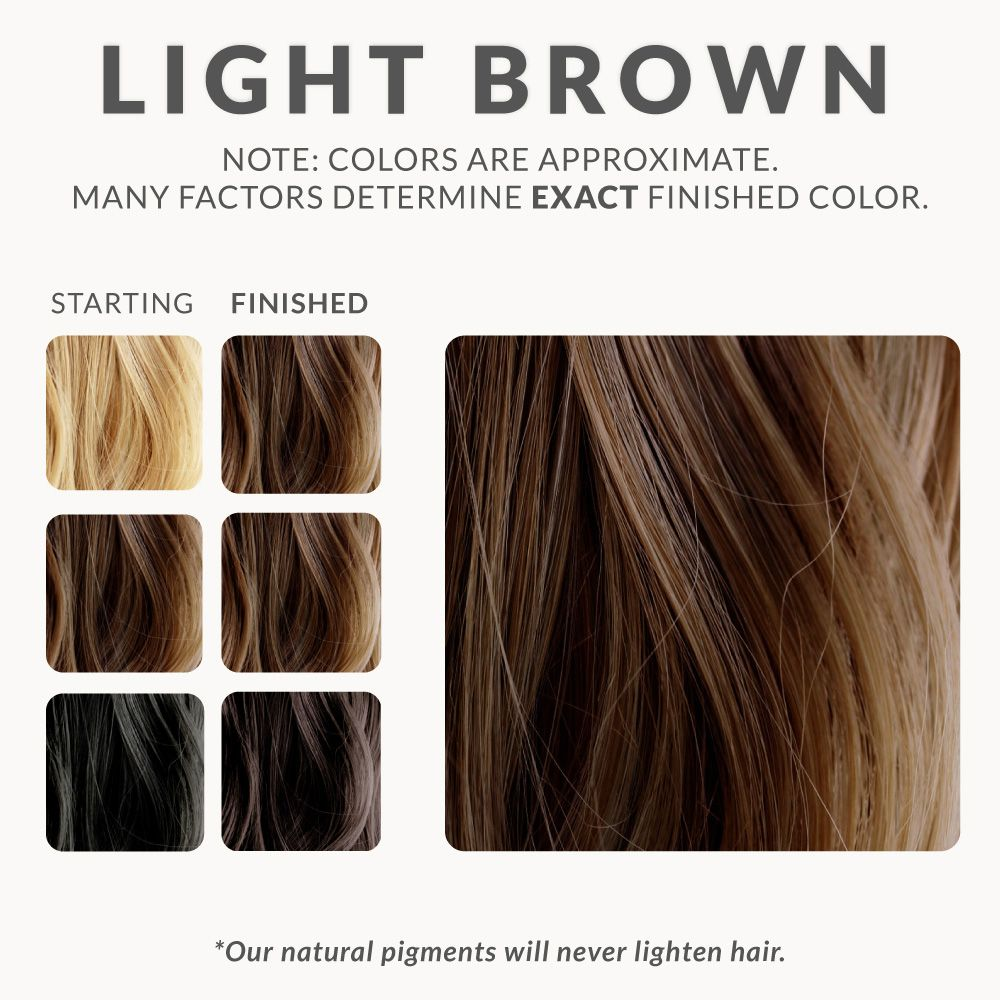 Light Brown Henna Hair Dye Henna Color Lab Henna Hair Dye Hair