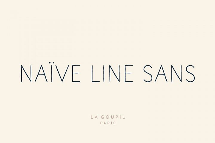 Download Naive Line Sans Family | Naive, Pretty fonts, Font packs