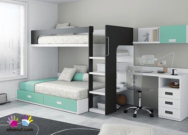 M s de 25 ideas incre bles sobre camas dobles juveniles en for Camas dobles juveniles ikea