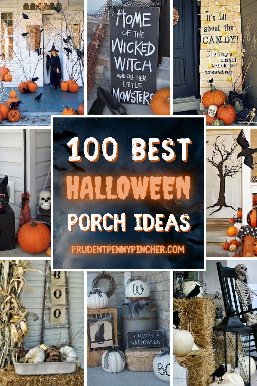 100 Best Halloween Porch Decor Ideas Halloween Porch Decorations Halloween Porch Halloween Outdoor Decorations