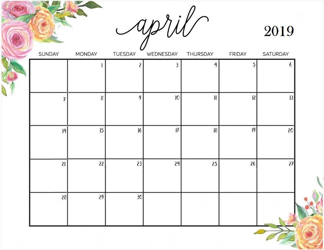 April 2019 Calendar In Pdf Word Excel Printable Template August