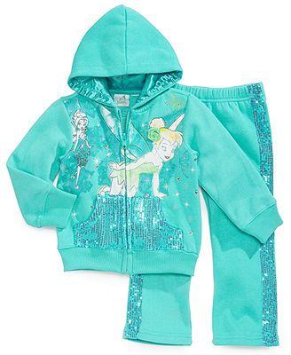 Disney Girls Tinker Bell Neverland Hoodie