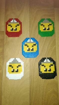 Hama Bead Lego Ninjago Libbyduce Basteln Pinterest Hama
