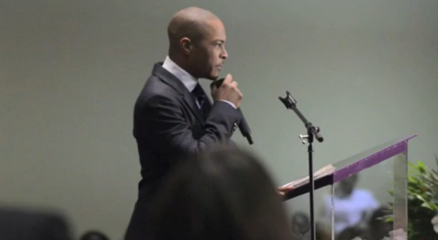 Video: T.I. Has Touching Words For Doe B At Late Rapper's Funeral - UrbanMediaDaily.com