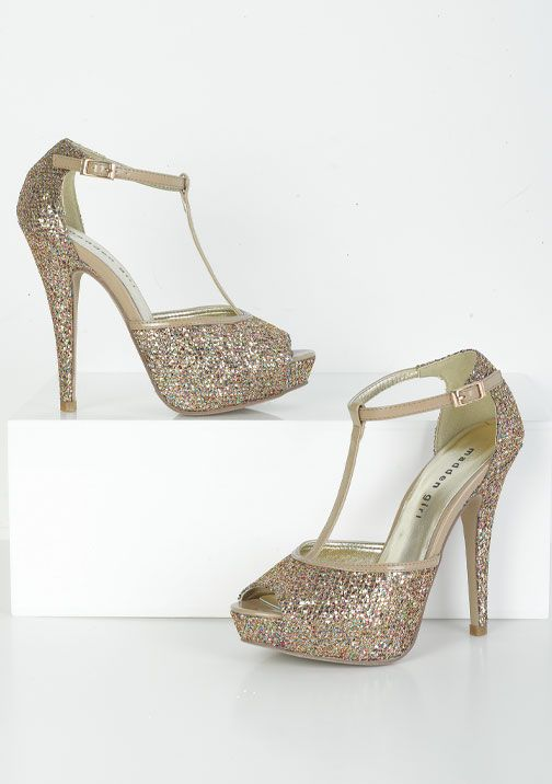 Madden Girl T-strap peep toe pumps ~Jennaah