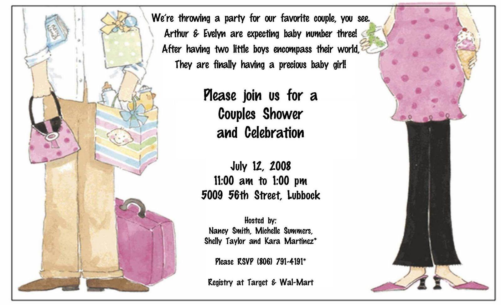 Get Make Homemade Baby Shower Invitation Wording Ideas Free Baby