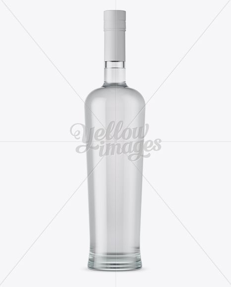 Download Download Clear Glass Bottle With Vodka Mockup Psd In 2020 Bottle Mockup Glass Bottles Bottle PSD Mockup Templates