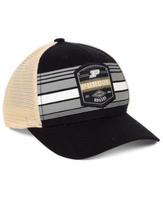 19dae5476d9 Top of the World Purdue Boilermakers Branded Trucker Cap - Black Gold  Adjustable
