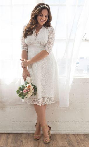 Crochet Wedding Dress Patterns And Wedding Accessories To Crochet Vestidos De Novia Gorditas Vestido De Novia Casual Vestidos De Novia Cortos Civil