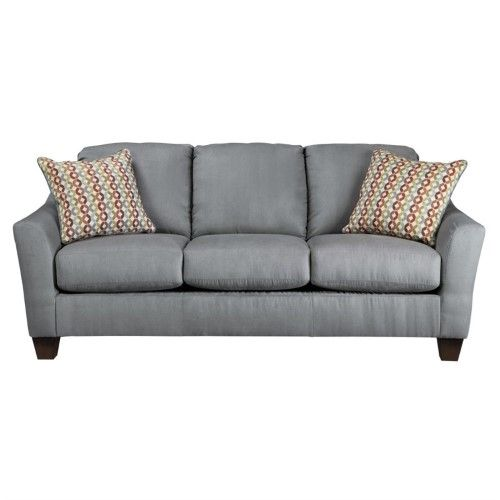 Hannin Collection 9580238 82 Sofa With Fabric Upholstery Removable Seat Cushions Tapered Legs