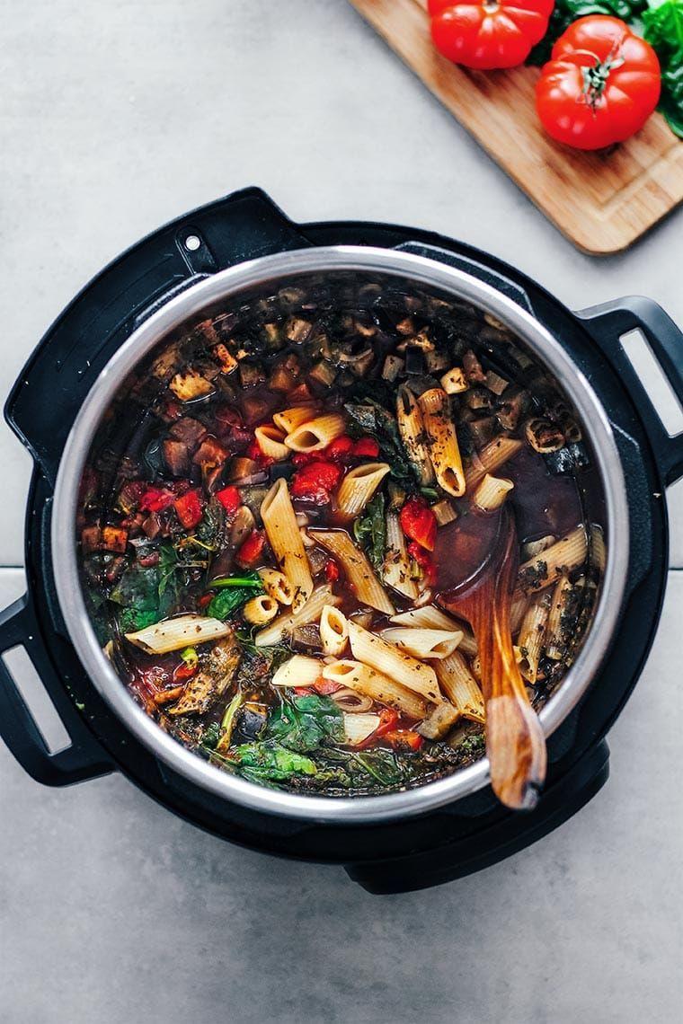 Vegan Instant Pot Pasta Recipe Easy Pasta Recipes Instant Pot