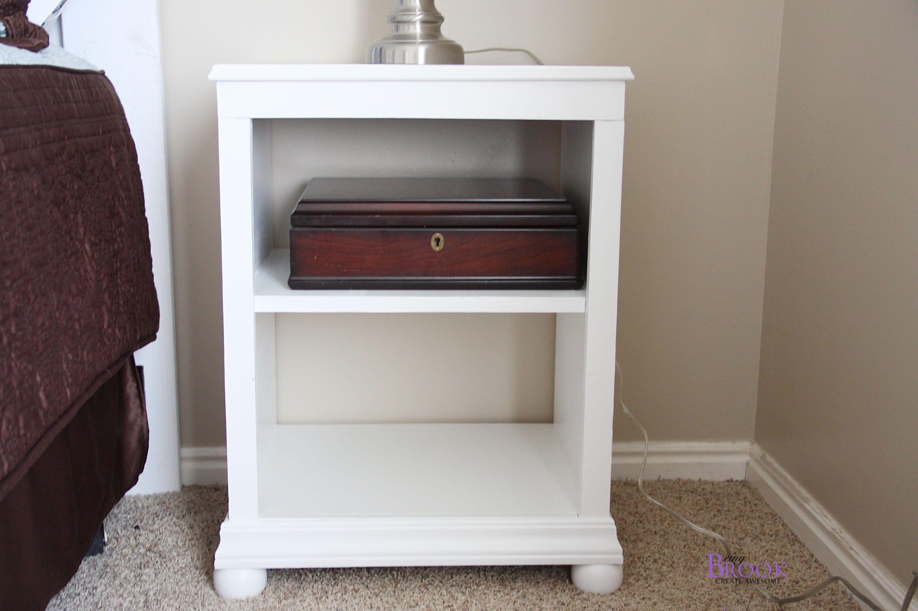 Katie Nightstand Open Shelf Diy Furniture Plans Diy Furniture Furniture Plans