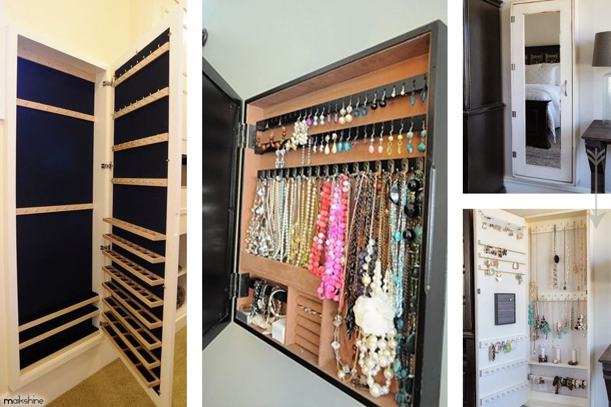 Best Jewelry Storage Ideas on Pinterest by Maikshine