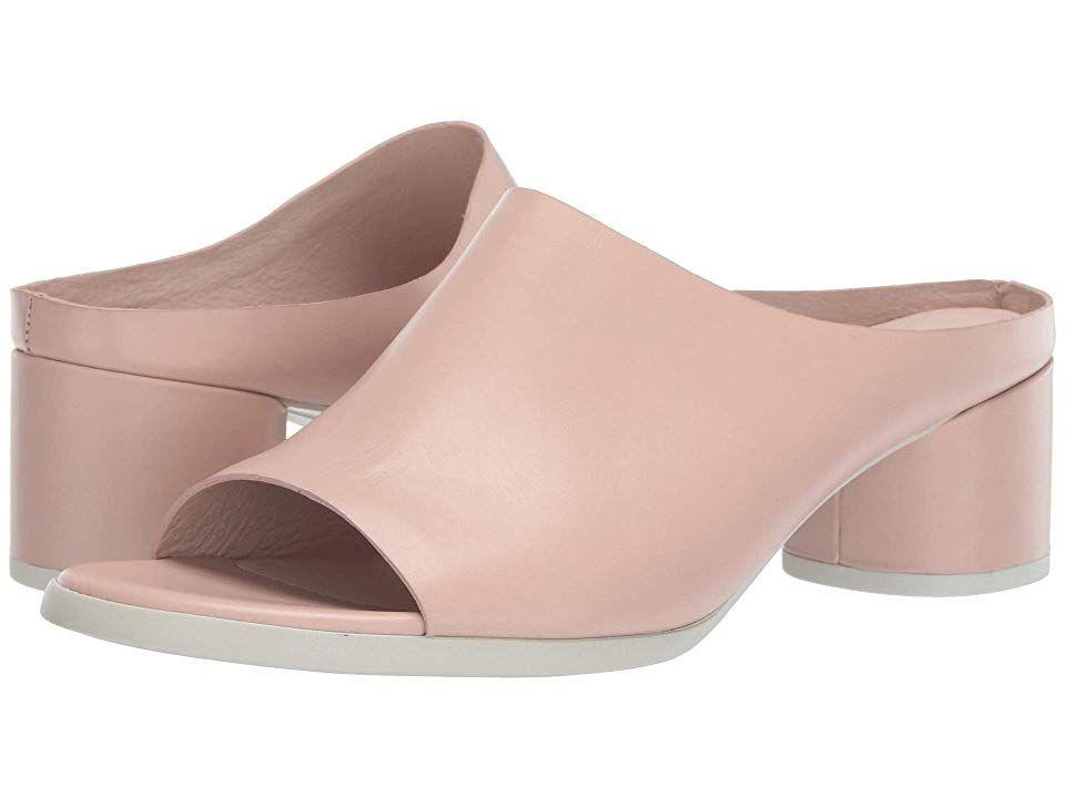 650e689360 ECCO Shape 45 Block Slide Women's 1-2 inch heel Shoes | Products in ...