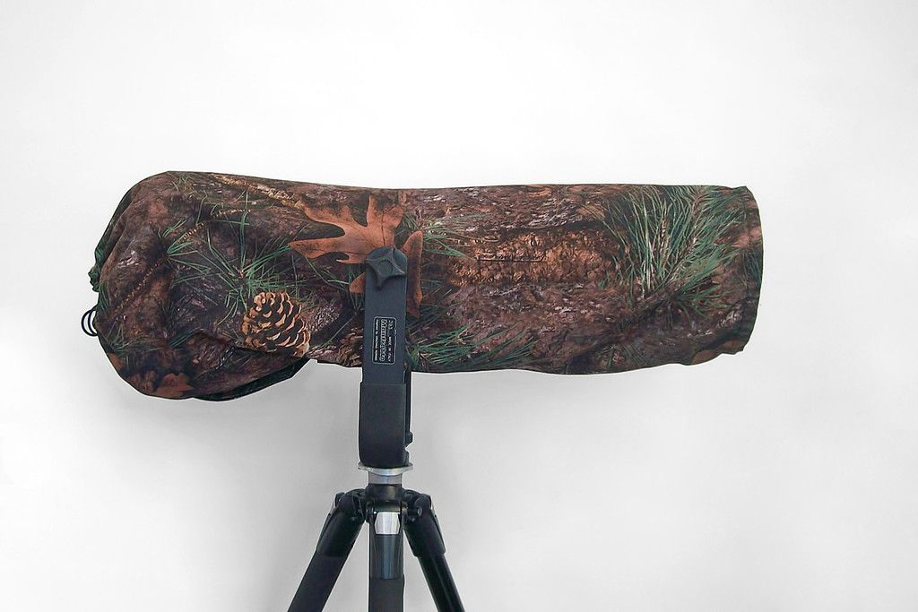 Reversible Waterproof Kanati Camo Camera//Lens Cover for Tamron 150-600 F//5-6.3