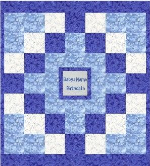Baby quilt designs personalized baby quilt design 4 we sell personalized baby quilts personalized handmade baby quilts personalized baby gifts personalized baby bedding negle Image collections
