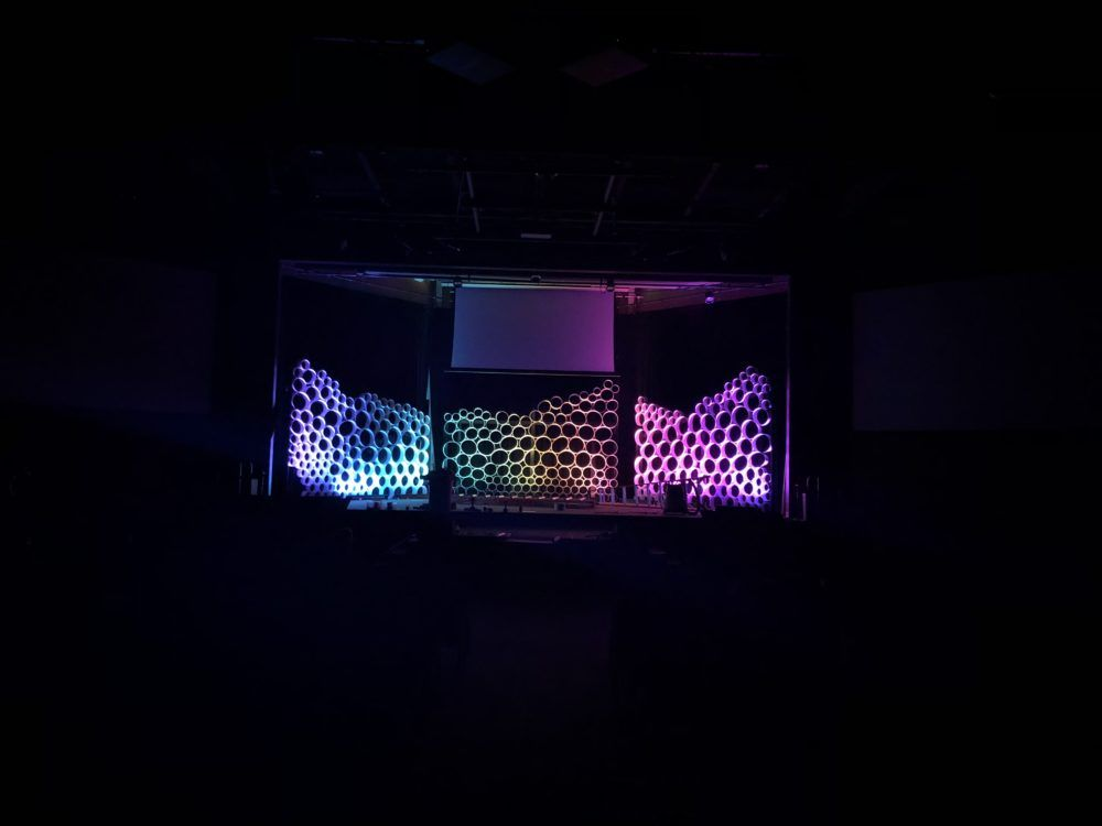 Bubble Back Church Stage Design Stage Design Church Stage
