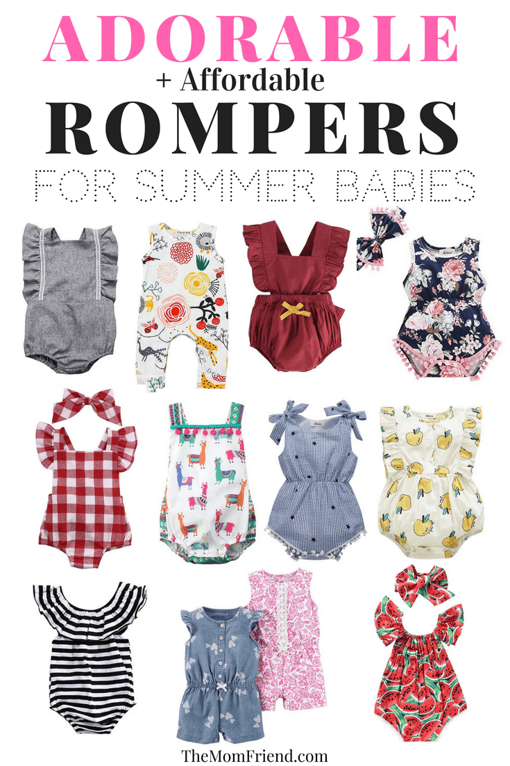 7cb1659dd790 Little girl fashion must have for summer: the Romper! These rompers are  perfect for newborns, infants and toddlers, and make for the cutest little  girl ...
