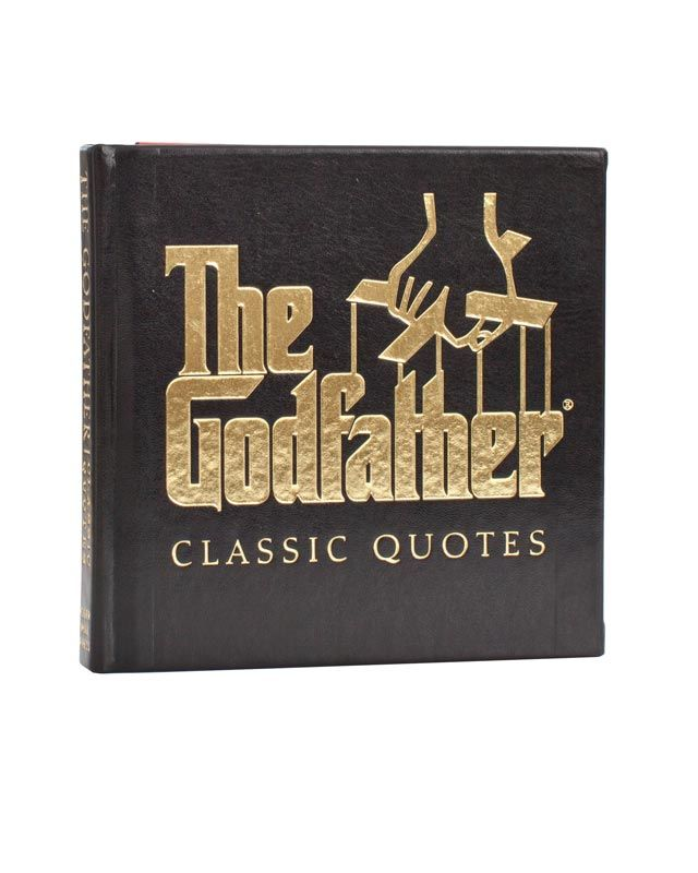 The Godfather Quotes About Family: The Godfather Classic Quotes For Father's Day Gift