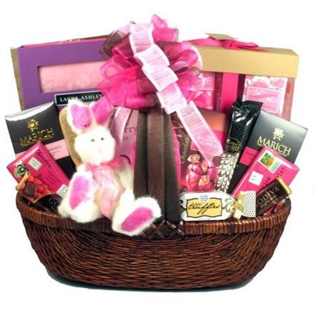 Gift basket drop shipping prinpi easter pretty in pink easter easter gift baskets negle Gallery