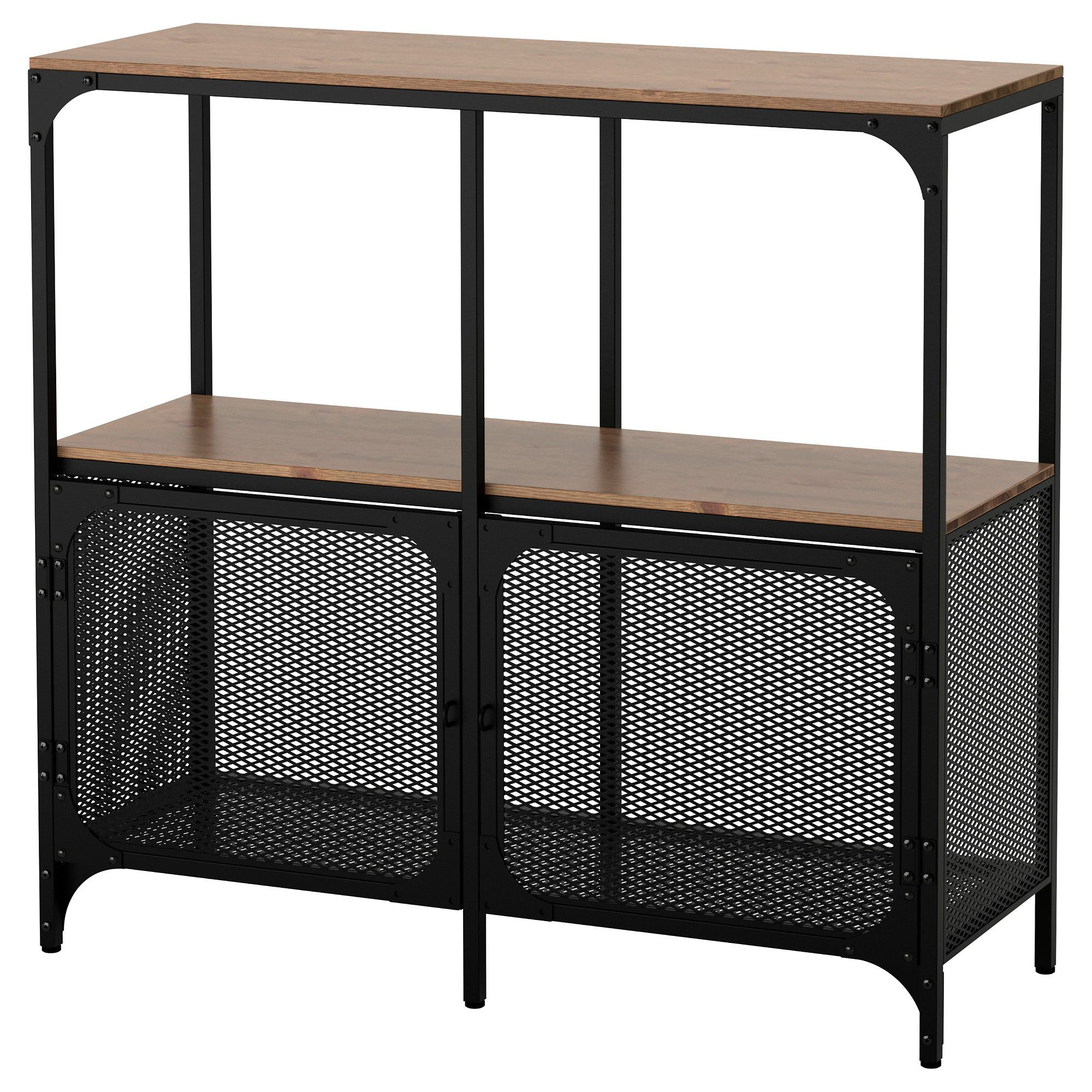 fjllbo shelf unit black
