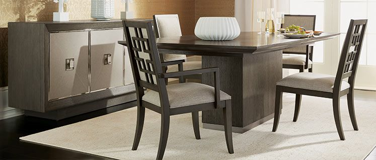 Brycemoor Rectangular Pedestal Dining Table Dining Room
