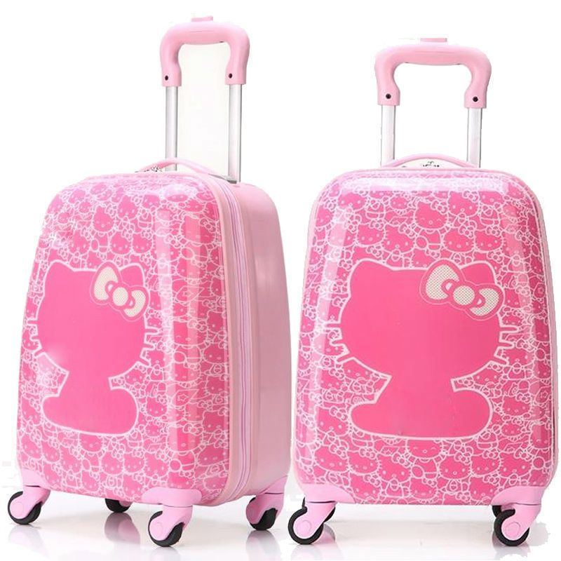 hello kitty car rims | ship hello kitty rolling luggage trolley ...