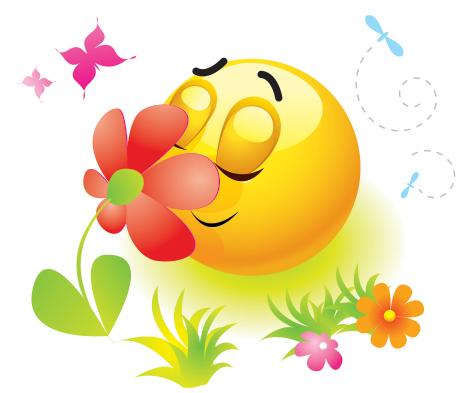 Spring Emoticon Emoji art