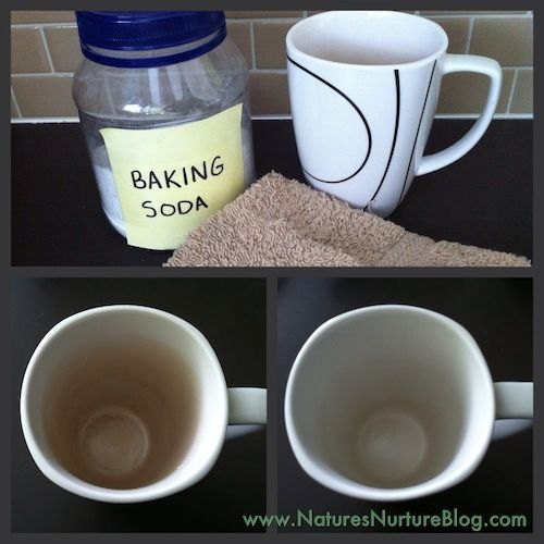 How To Get Tea Stains Out Of Coffee Cups