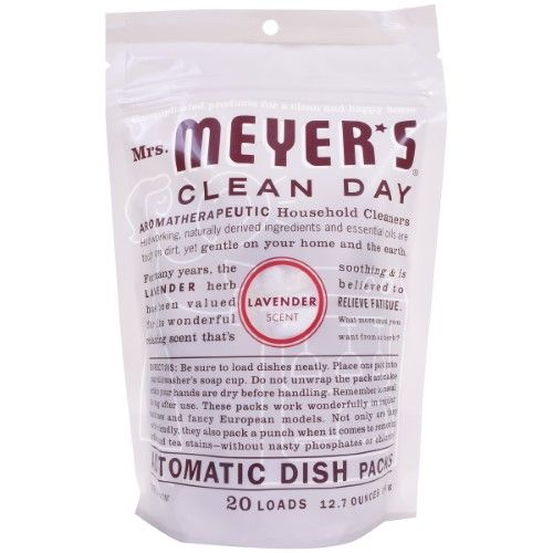 Mrs Meyer S Clean Day Automatic Dishwashing Packs Lavender 20 Ct Cleaning Day Dishwasher Detergent Dishwasher Soap