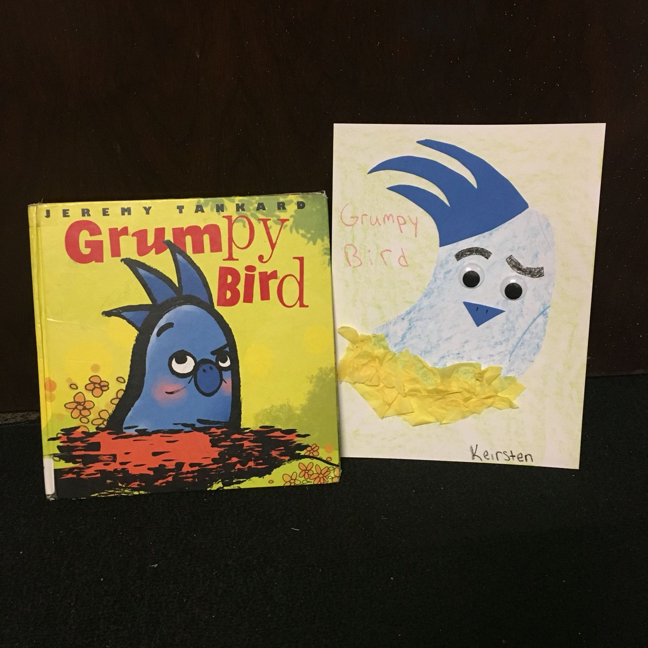 Grumpy Bird Preschool Activity
