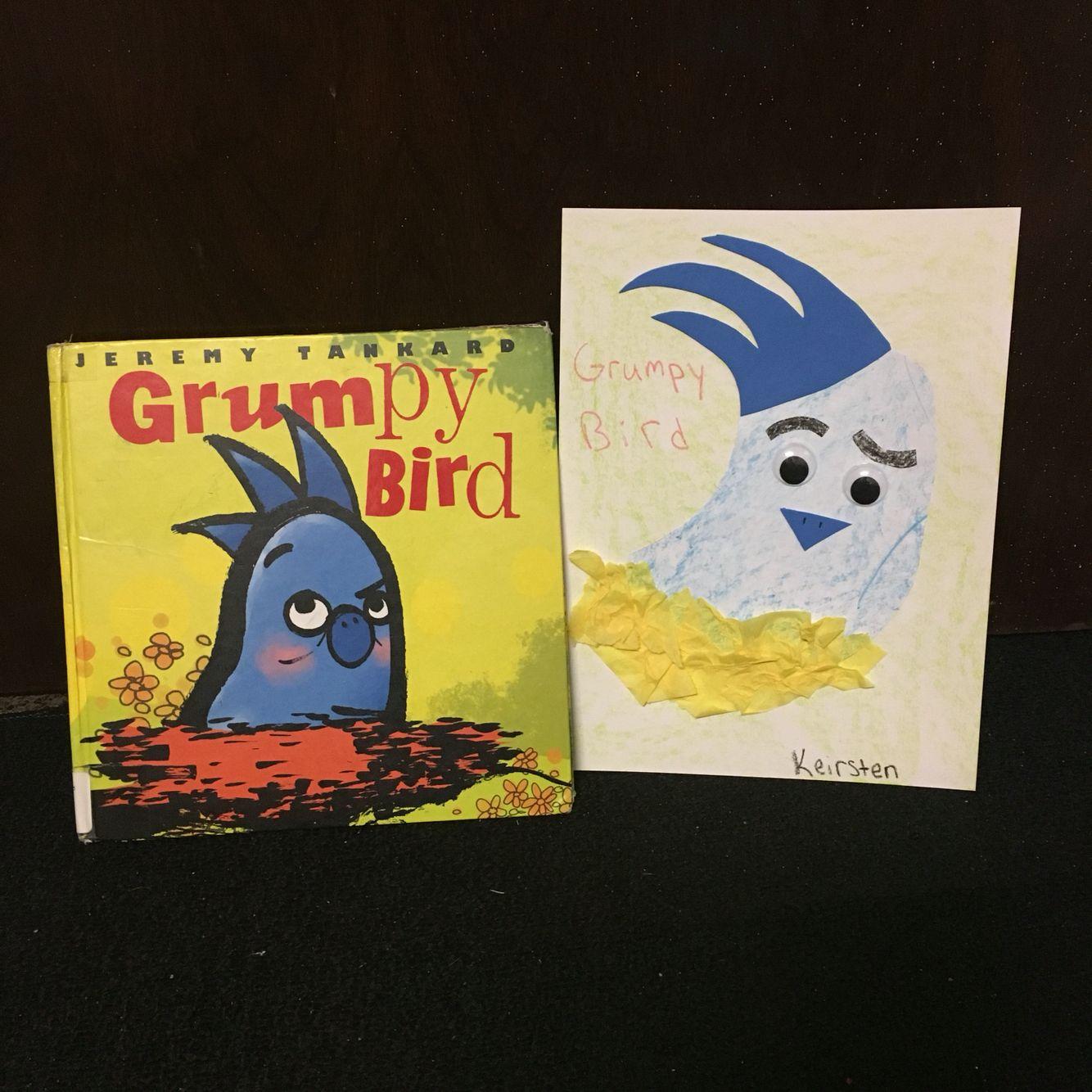 Grumpy Bird Preschool Activity