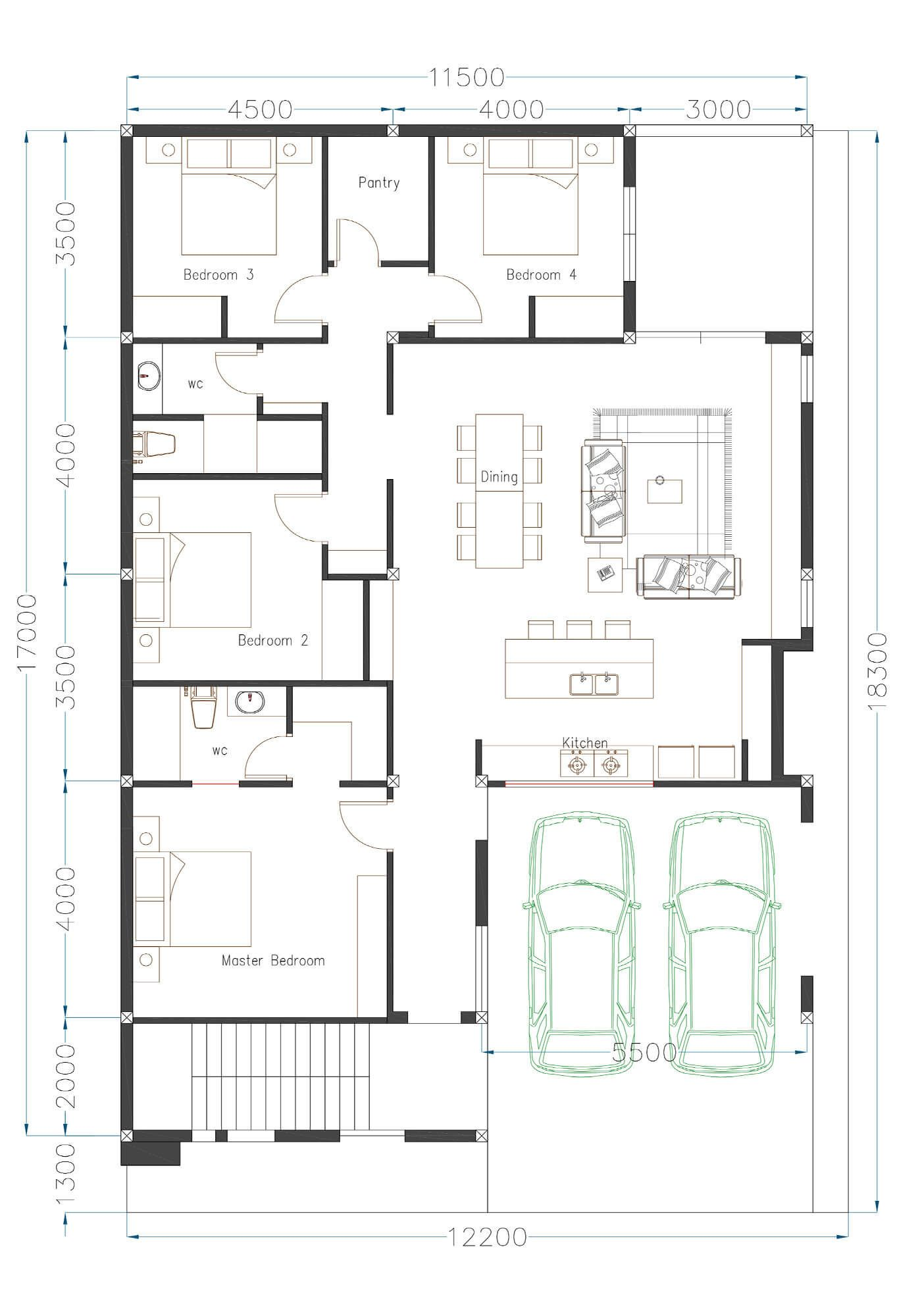 30 Small House Plan Ideas Engineering Discoveries Small House Plan House Plans Small House
