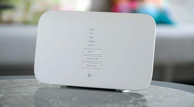 Telekom Macht Router Zur Smarthome Zentrale Router Neuer Smart Telekom