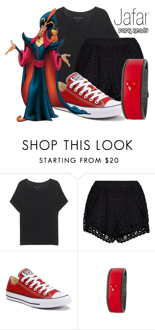 """Jafar~ DisneyBound"" by basic-disney ❤ liked on Polyvore featuring True Religion, New Look, Converse and Disney"