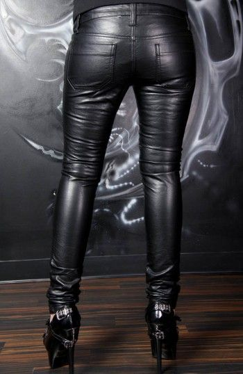 Tripp Deville Ladies Pleather Pants