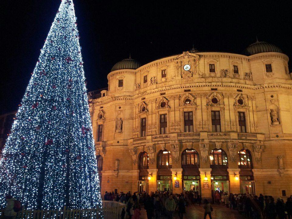 Bilbao en Navidad