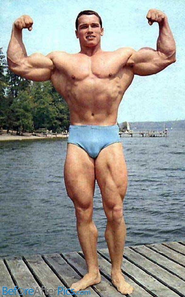 Grandi bodybuilder Dick