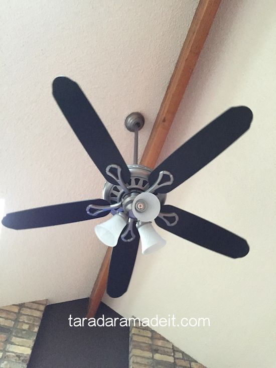 How To Save Money On Light Fixtures Don T Get Rid Of Your Old One Just Paint It To Update It Diy Diy Painting Ceiling Fans Ceiling Fan Brass Ceiling F