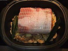 Rôti de porc, pommes de terre et champignons en cocotte ultrapro