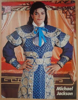Michael Jackson Poster BAD Era VERY RARE VINTAGE From 1988 Japan - http://www.michael-jackson-memorabilia.com/?p=1428