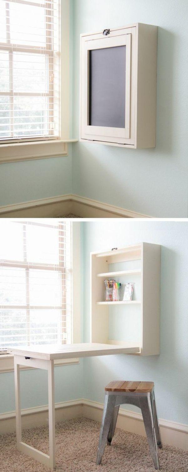 Klapptisch für Wand - praktische Ideen für kleine Räume - Archzine ...