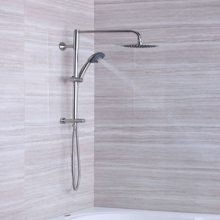 Afa Stainless 8 Rain Shower Head And Hand Shower Combo Rain